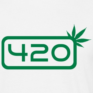 420 Weed Tee shirts - T-shirt Homme