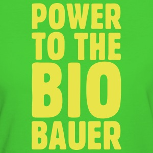Power to the Biobauer Bio T-Shirt - Frauen Bio-T-Shirt