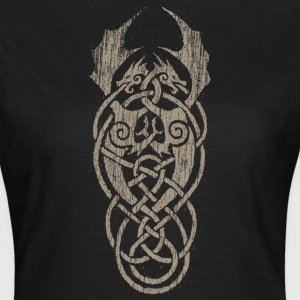 grey dragon knot T-Shirts - Frauen T-Shirt
