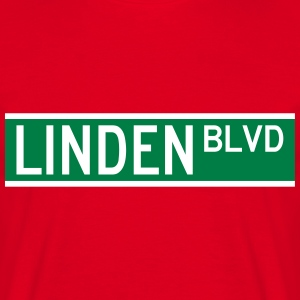 LINDEN BLVD SIGN T-Shirts - Men's T-Shirt