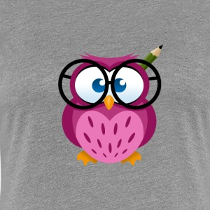 Office Owl T-Shirts - Frauen Premium T-Shirt