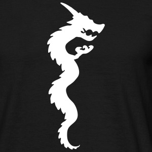 dragon4 T-shirts - Herre-T-shirt
