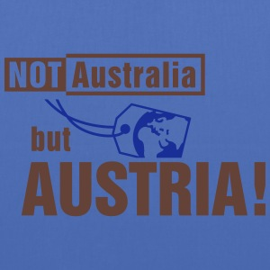 Not Australia but Austria Sacs et sacs à dos - Tote Bag