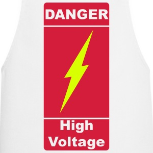 Danger! High Voltage!  2c Fartuchy - Fartuch kuchenny