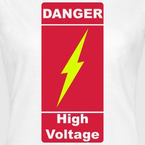 Danger! High Voltage! Blitz 2c T-shirts - Vrouwen T-shirt