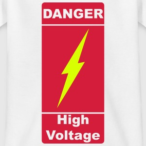 Danger ! High Voltage ! Flash 2c Skjorter - T-skjorte for tenåringer