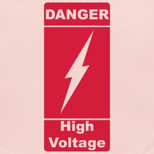 Danger! High Voltage! Blitz 1c Accessoires - Baby Bio-Lätzchen