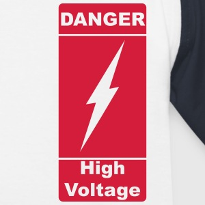 Danger! High Voltage! Blitz 1c Shirts - Kinderen baseball T-shirt