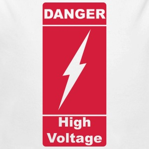 Danger! High Voltage! Blitz 1c Sudaderas - Body orgánico de manga larga para bebé
