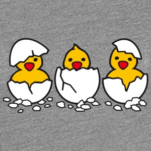Out of the Eggs - Vrouwen Premium T-shirt