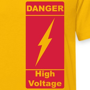 Danger! High Voltage! Flash 1c Shirts - Kids' Premium T-Shirt