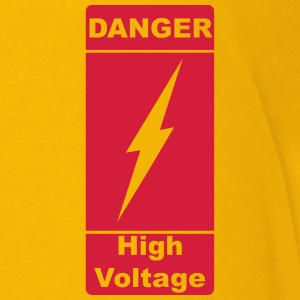 Danger ! High Voltage ! Lyn 1c Skjorter - Premium T-skjorte for tenåringer