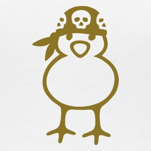 Pirate Chick - Dame premium T-shirt
