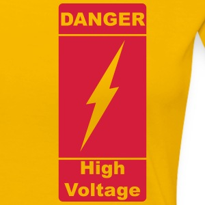 Danger! High Voltage! Blitz 1c T-Shirts - Frauen Premium T-Shirt