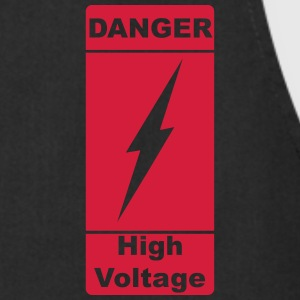 Danger! High Voltage! Blitz 1c Delantales - Delantal de cocina