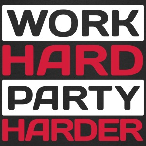 work hard party harder T-Shirts - Men's V-Neck T-Shirt