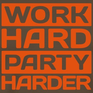 work hard party harder Tee shirts - T-shirt Premium Homme