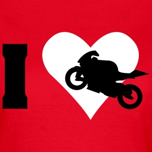 I love motorcycle  T-Shirts - Women's T-Shirt