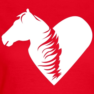 A heart for horses  T-Shirts - Women's T-Shirt