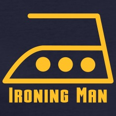 ironing man T-Shirts