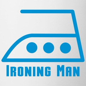 ironing man Bottles & Mugs - Mug