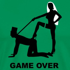 Game over JGA Junggesellenabschied T-Shirts