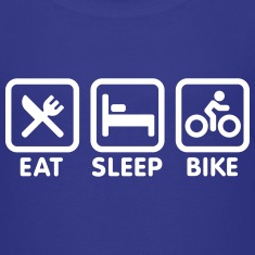 Eat sleep bike Shirts