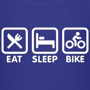 Eat Sleep Bike Cycling Shirts - Kids' Premium T-Shirt
