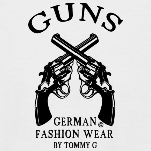guns T-Shirts - Männer Baseball-T-Shirt