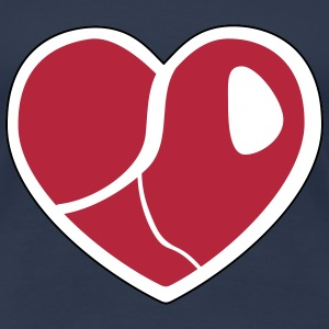 Steak Heart T-Shirts - Frauen Premium T-Shirt