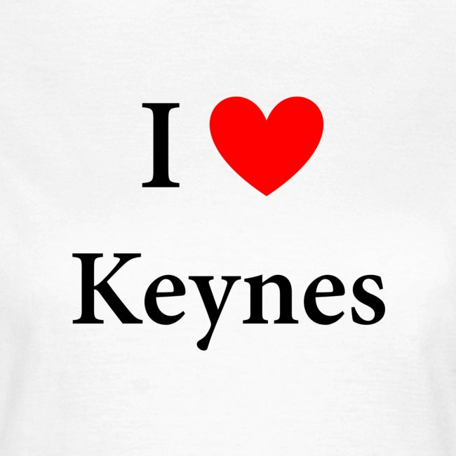 I love Keynes