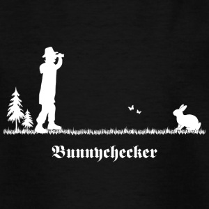 bunnychecker bunny checker hase jäger bayern party T-Shirts - Teenager T-Shirt