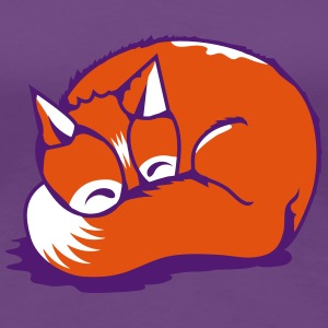 A sleeping fox T-Shirts - Women's Premium T-Shirt