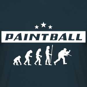 paintball_evolution T-Shirts - Männer T-Shirt