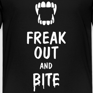 freak out and bite Shirts - Kids' Premium T-Shirt
