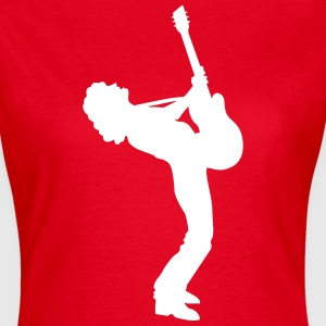guitar player Tee shirts - T-shirt Femme