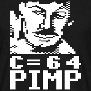C64 Pimp Tony - Men's T-Shirt