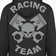 pistons and rods racing team Hoodies & Sweatshirts