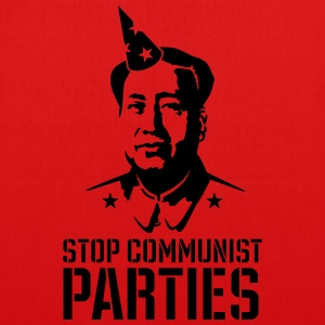 Stop communist parties Bags & backpacks - EarthPositive Tote Bag