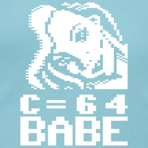 C64 Babe Marlena - Women's Scoop Neck T-Shirt