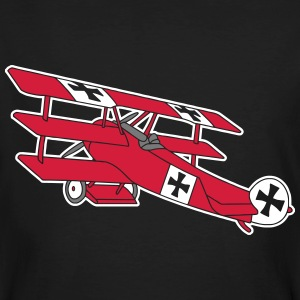 Fokker Roter Baron Red Air Combat First World War  Camisetas - Camiseta ecológica hombre