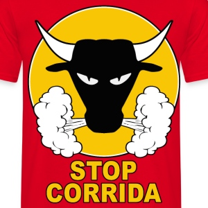 stop corrida 01 Tee shirts - T-shirt Homme