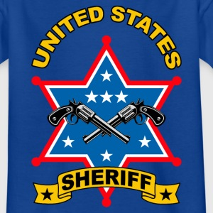sheriff united states Shirts - Kids' T-Shirt