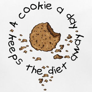 A cookie a day, keeps the diet away Accessoires - Bio-slabbetje voor baby's