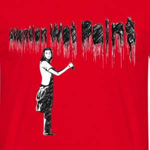 WET PAINT - Männer T-Shirt