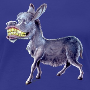 Happy Donkey - Premium-T-shirt dam