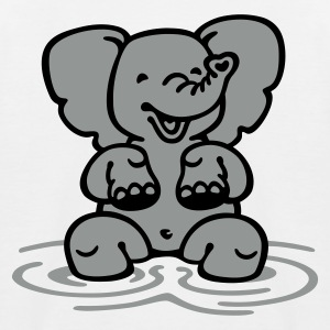 Elephant - Kids' Baseball T-Shirt