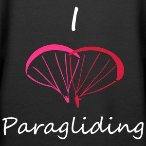 I Love Paragliding V2 Pullover & Hoodies - Frauen Premium Hoodie