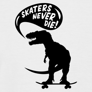 Sable/charbon t-rex skater T-shirts - T-shirt baseball manches courtes Homme