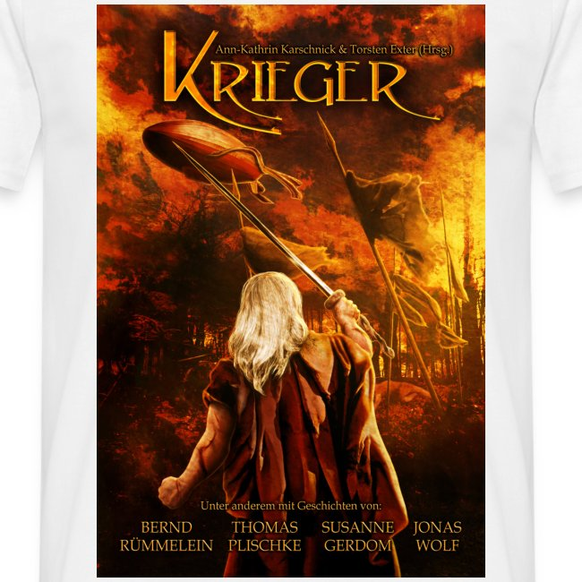 Krieger weiß (T-Shirt Männer)